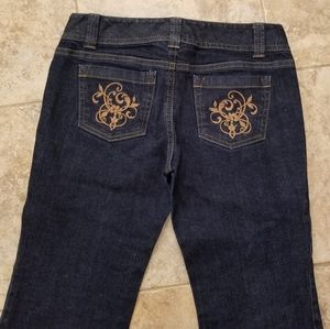 Ann Taylor Great Condition Boot Cut Blue Jeans